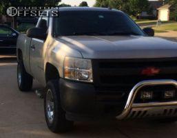 "2008 Chevrolet Silverado 1500 - 18x9 0mm - Moto Metal MO951 - Suspension Lift 3"" - 33"" x 9.5"""