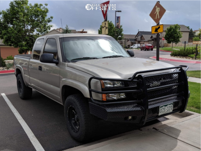 "2003 Chevrolet Silverado 1500 - 17x9 -6mm - Pro Comp Series 39 - Suspension Lift 2.5"" - 285/70R17"