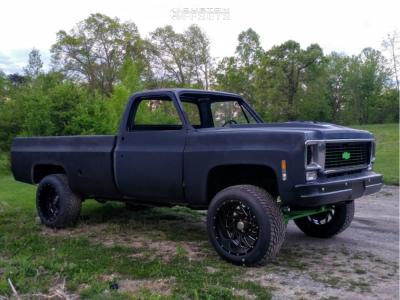 "1979 Chevrolet K10 - 20x12 -44mm - DWG Offroad Dw15 - Suspension Lift 2.5"" - 305/50R20"