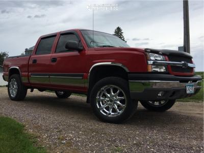 "2004 Chevrolet Silverado 1500 - 20x9 -12mm - XD XD779 - Suspension Lift 2.5"" - 275/55R20"