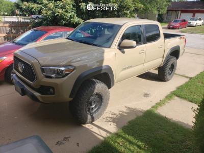 "2018 Toyota Tacoma - 16x8 0mm - Method The Standard - Suspension Lift 3"" - 285/75R16"