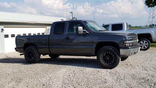 2000 Chevrolet Silverado 1500 - 16x8 0mm - Pro Comp 31 - Leveling Kit - 265/70R16