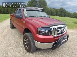 2007 Ford F-150 - 18x9 0mm - Gear Off-Road Backcountry - Leveling Kit - 275/70R18