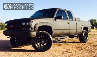 "1998 Chevrolet K1500 - 18x9 -12mm - XD Addict - Suspension Lift 4"" - 285/65R18"