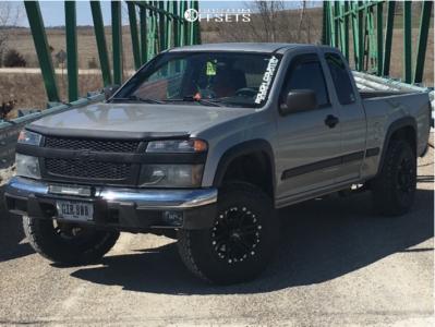 "2006 Chevrolet Colorado - 16x8 -13mm - Tuff T01 - Suspension Lift 2.5"" - 245/75R16"