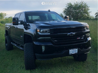 "2017 Chevrolet Silverado 1500 - 20x10 -24mm - XD Buck - Suspension Lift 6"" - 35"" x 12.5"""