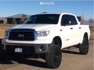 "2013 Toyota Tundra - 18x9 -12mm - Xd Xd778 - Suspension Lift 7.5"" - 35"" x 12.5"""