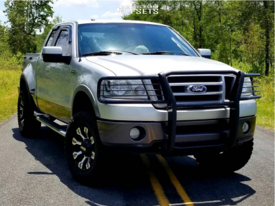 """2007 Ford F-150 - 18x9 10mm - Gear Off-Road Backcountry - Suspension Lift 2.5"""" - 35"""" x 12.5"""""""
