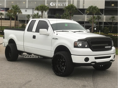 2007 Ford F-150 - 24x14 -75mm - Fuel Stroke - Leveling Kit - 305/45R24