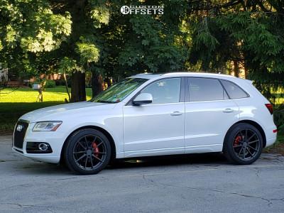 2013 Audi Q5 - 20x9.5 35mm - TSW Bathurst - Lowering Springs - 245/45R20