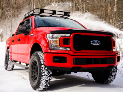 2018 Ford F-150 - 17x8.5 0mm - Method Roost - Leveling Kit - 285/75R17