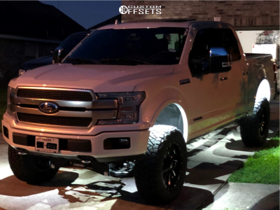 """2018 Ford F-150 - 20x10 -18mm - Fuel Cleaver - Suspension Lift 6"""" - 295/65R20"""
