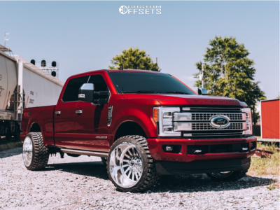 2019 Ford F-250 Super Duty 24x14 Fuel Forged Ff16