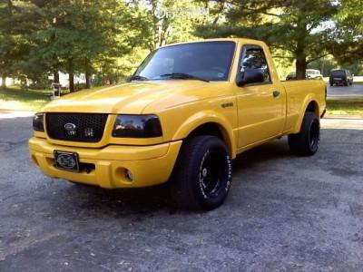 2002 Ford Ranger - 15x10 -38mm - Bart D Window - Stock Suspension - 295/50R15