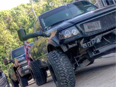 "1998 Ford Ranger - 15x12 -63mm - Bart Super Trucker - Stock Suspension - 33"" x 12.5"""