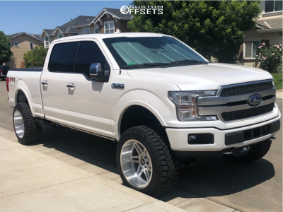 "2019 Ford F-150 - 22x12 -44mm - Axe Offroad Ax3.1 - Suspension Lift 6"" - 35"" x 12.5"""