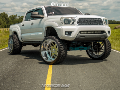 """2013 Toyota Tacoma - 24x14 -76mm - Specialty Forged SF035 - Suspension Lift 8"""" - 33"""" x 14.5"""""""