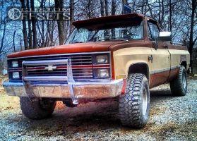 "1983 Chevrolet K10 - 15x10 2mm - Mickey Thompson N/A - Stock Suspension - 33"" x 12.5"""