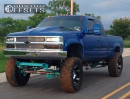 "1996 Chevrolet K2500 - 18x9 -12mm - XD Spy - Suspension Lift 9"" - 37"" x 13.5"""