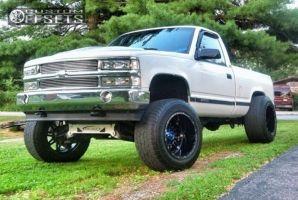 "1995 Chevrolet K1500 - 20x14 -76mm - Fuel Hostage - Suspension Lift 6"" - 325/60R20"