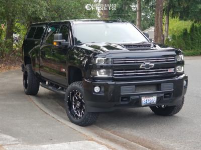 2019 Chevrolet Silverado 2500 Hd Hostile Sprocket Rough ...