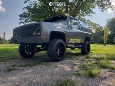 "1984 Chevrolet K5 Blazer - 20x12 -51mm - ARKON OFF-ROAD Lincoln - Suspension Lift 4"" - 33"" x 12.5"""