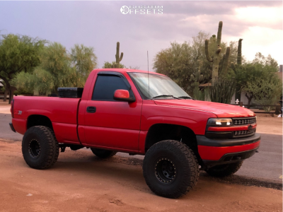 "1999 Chevrolet Silverado 1500 - 15x10 -44mm - Pro Comp Series 252 - Suspension Lift 6"" - 35"" x 12.5"""