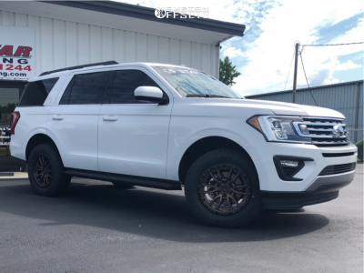 """2019 Ford Expedition - 20x9 20mm - Fuel Rebel - Suspension Lift 3"""" - 285/60R20"""