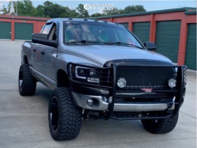"""2007 Dodge Ram 1500 - 22x12 -44mm - RBP 74r - Suspension Lift 6"""" - 325/50R22"""