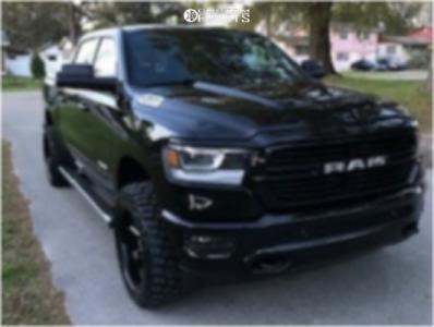 "2019 Ram 1500 - 20x10 -25mm - ARKON OFF-ROAD Lincoln - Leveling Kit - 33"" x 12.5"""