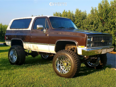 "1984 Chevrolet K5 Blazer - 22x14 -76mm - TIS 544c - Suspension Lift 8"" - 37"" x 13.5"""