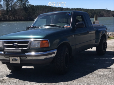 1997 Ford Ranger - 15x8 -19mm - Pro Comp Series 31 - Stock Suspension - 235/75R15