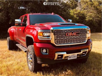 "2019 GMC Sierra 3500 HD - 20x8.25 -240mm - Fuel Maverick D536 - Suspension Lift 5"" - 35"" x 12.5"""