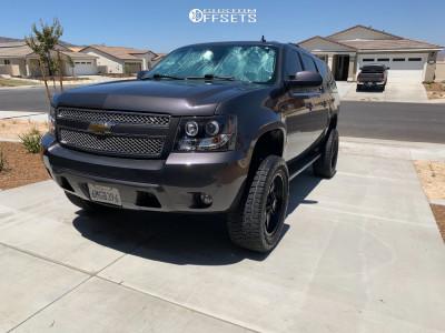 "2010 Chevrolet Suburban - 20x9 0mm - Pro Comp Series 48 - Suspension Lift 5"" - 305/55R20"