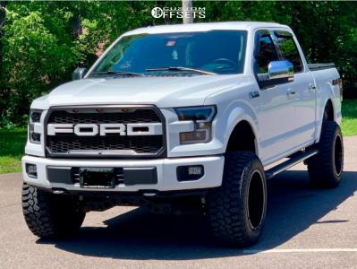 "2015 Ford F-150 - 20x12 -44mm - Anthem Off-Road Equalizer - Suspension Lift 6"" - 35"" x 12.5"""