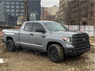 "2019 Toyota Tundra - 20x9 12mm - Vision Rocker - Stock Suspension - 0"" x 0"""