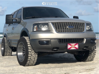 """2004 Ford Expedition - 20x12 -40mm - Asanti Offroad Ab815 - Leveling Kit - 33"""" x 12.5"""""""