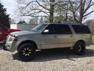 """2008 Ford Expedition - 20x12 -44mm - Gear Off-Road Big block - Leveling Kit - 33"""" x 12.5"""""""