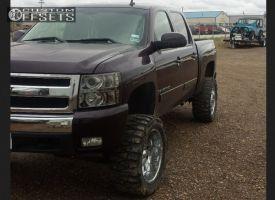 "2008 Chevrolet Silverado 1500 - 20x10 -21mm - American Eagle 64 - Suspension Lift 6"" - 33"" x 12.5"""