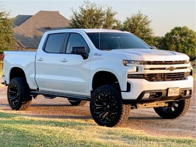 "2019 Chevrolet Silverado 1500 - 22x12 -44mm - Fuel Assault - Suspension Lift 6"" - 35"" x 12.5"""