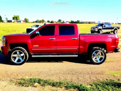 "2014 Chevrolet Silverado 1500 - 22x11.5 -44mm - Vision Empire - Suspension Lift 3"" - 33"" x 12.5"""