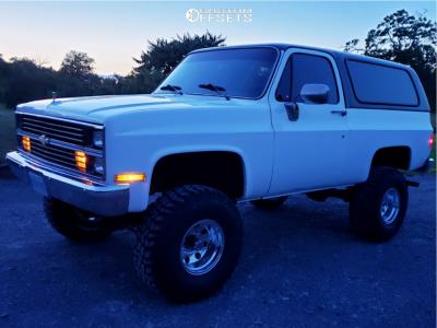 "1984 Chevrolet K5 Blazer - 15x10 -43mm - American Racing Ar172 - Suspension Lift 6"" - 35"" x 12.5"""