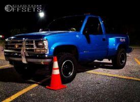 1991 Chevrolet K1500 - 16x8 0mm - Mickey Thompson Classic Baja Lock - Stock Suspension - 265/75R16