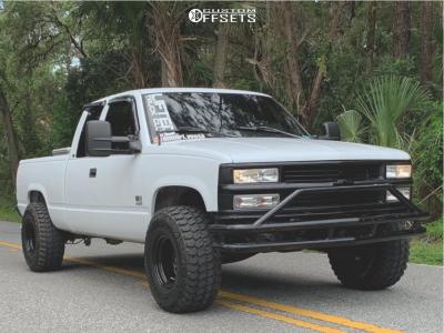 """1998 Chevrolet C1500 - 15x10 -44mm - Pro Comp 51 - Suspension Lift 4"""" - 33"""" x 12.5"""""""
