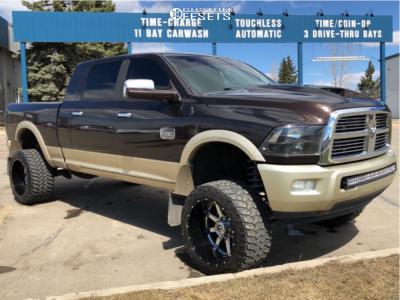 """2012 Dodge Ram 2500 - 22x14 -70mm - Fuel Maverick D260 - Suspension Lift 6"""" - 355/40R22"""