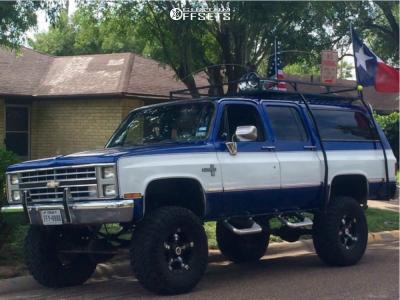 "1986 Chevrolet K10 Suburban - 17x9 10mm - RBP 93r - Suspension Lift 6"" - 37"" x 12.5"""