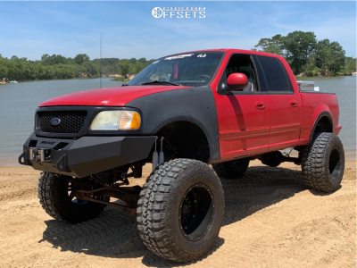 """2003 Ford F-150 - 20x14 -76mm - Fuel Hostage - Lifted >12"""" - 40"""" x 15.5"""""""