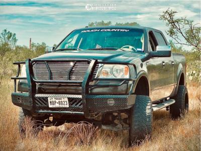 """2008 Ford F-150 - 20x12 -43mm - Fuel Titan - Suspension Lift 6"""" - 33"""" x 12.5"""""""