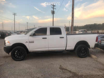 "2018 Ram 2500 - 20x10 -19mm - Xtreme Force Xf8 - Stock Suspension - 33"" x 12.5"""
