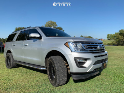 "2018 Ford Expedition - 20x10 -19mm - Xtreme Force Xf8 - Body Lift 3"" - 295/55R20"